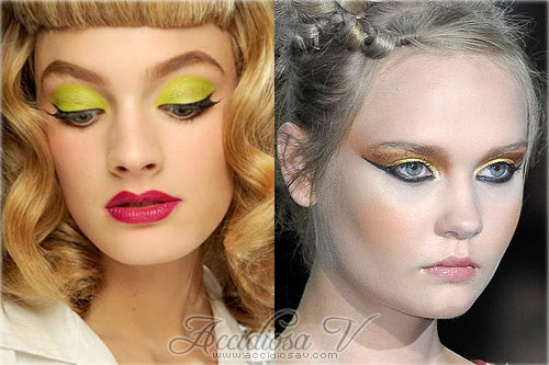 2011 Makeup Trends: Bright Eyes - Yellow Eyeshadow