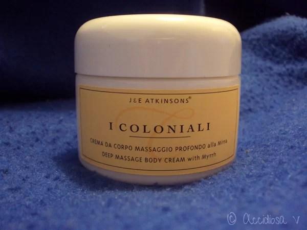 GlossyBox Ottobre 2011 - I coloniali - CREMA CORPO MASSAGGIO PROFONDO ALLA MIRRA