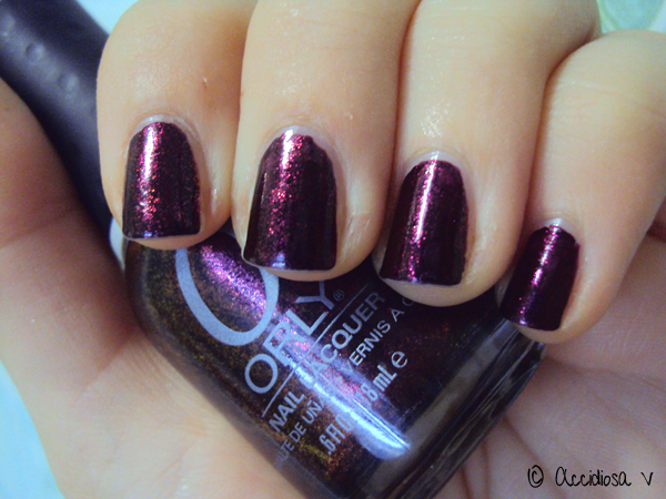 Orly Rococo A-Go-Go swatch - Mineral FX