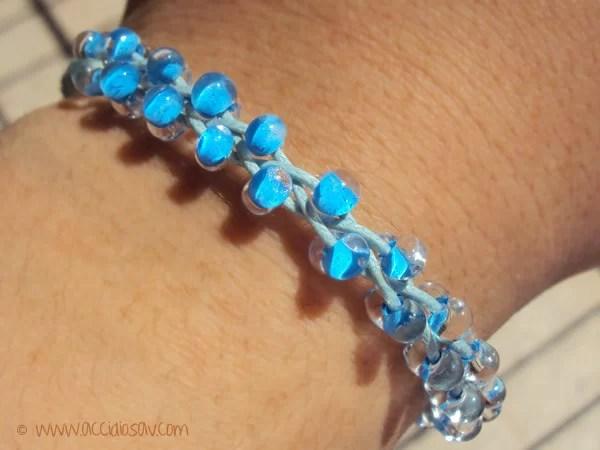Braided Bead Bracelet tutorial