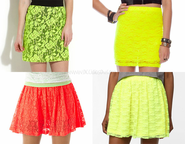 Christopher Kane Laser Cut Neon Skirt cheap alternatives - www.accidiosav.com