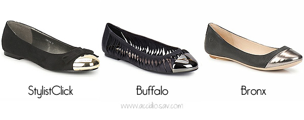 Shoes Trends Summer 2012: Cap-toe Ballerinas & Flats - www.accidiosav.com