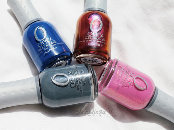 Orly Electronica - Summer / Fall 2012 Collection - Swatchs & Bottles