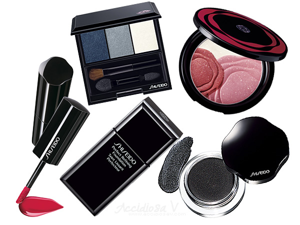 "Shiseido Holiday 2012: Dick Page ""Nocturne"" Look"