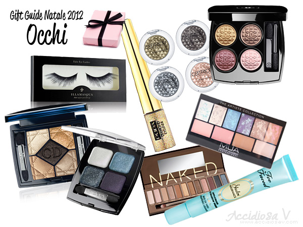 Gift Guide Beauty Natale 2012: Occhi