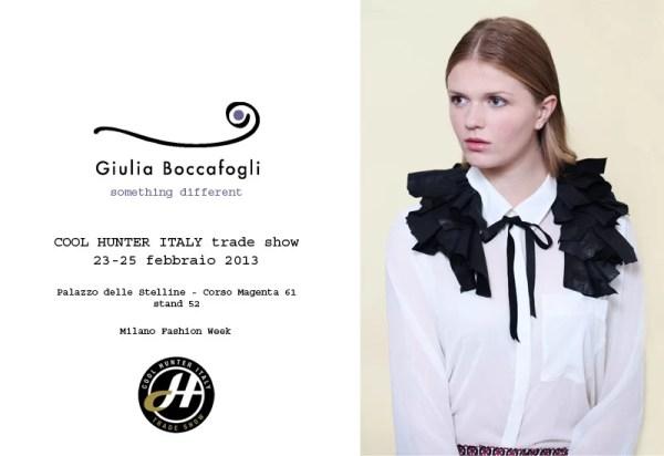 Giulia BoccafoglI: Cool Hunter 2013
