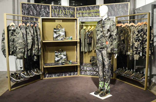 Valentino Camouflage Capsule Collection Spring 2013 Even