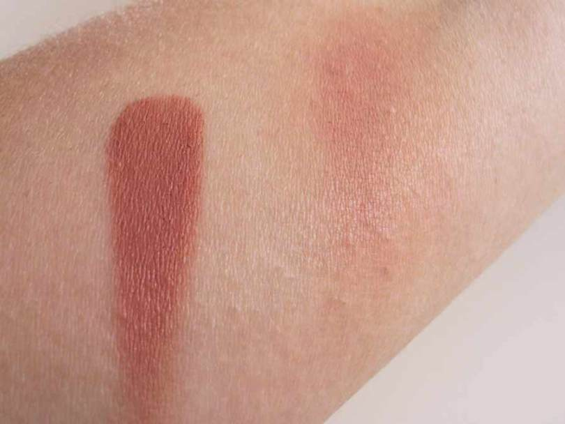 Make Up For Ever HD Blush - 335 Fawn - Swatch   AccidiosaV