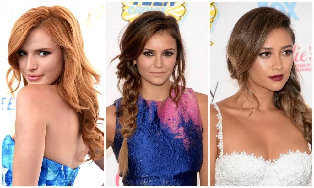 beauty looks teen choice awards 2014