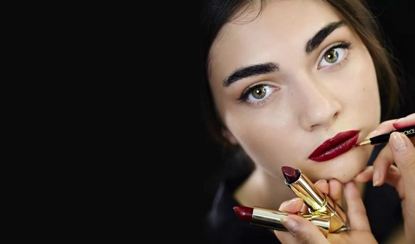 Makeup Dolce & Gabbana Primavera/Estate 2015 - Labbra Pantone Marsala