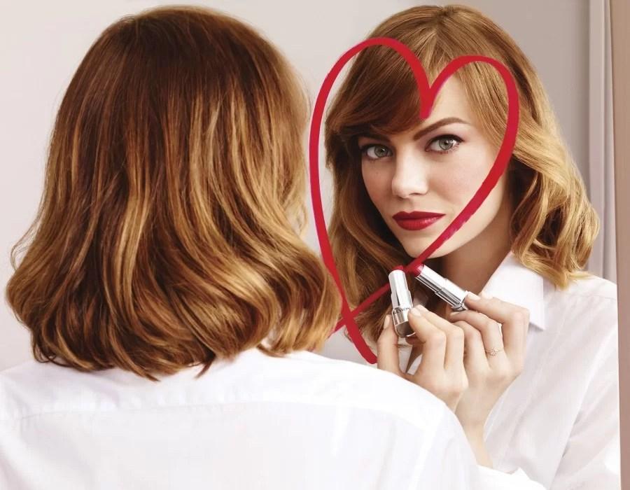 Emma Stone - Revlon HD Ultra Lipstick