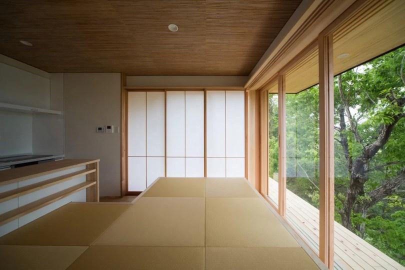 come arredare la sala da pranzo di design in stile asiatico