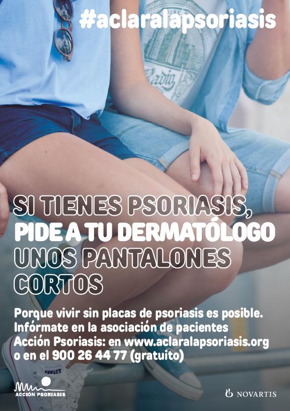 Aclara psoriasis pantalones