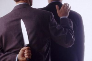 Your Career Is Being Threatened By Backstabbers - Do You Know What To Do?