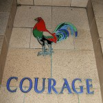 Courage is what successful negotiators require