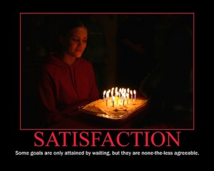 Achieving satisfaction is what makes a negotiation successful