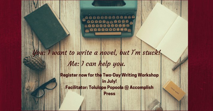 Intensive Writing Workshop in July
