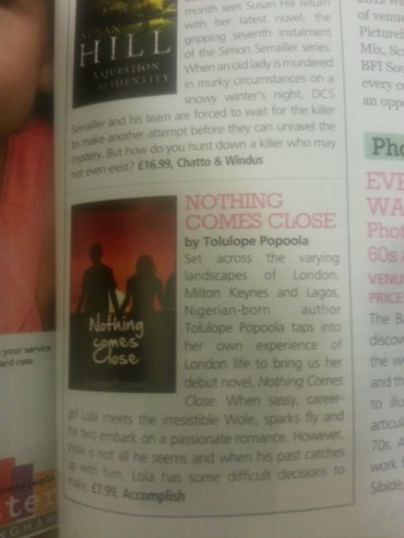 Nothing Comes Close featured in Pride Magazine