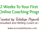 12 Weeks To Your First Draft Online Writing Programme