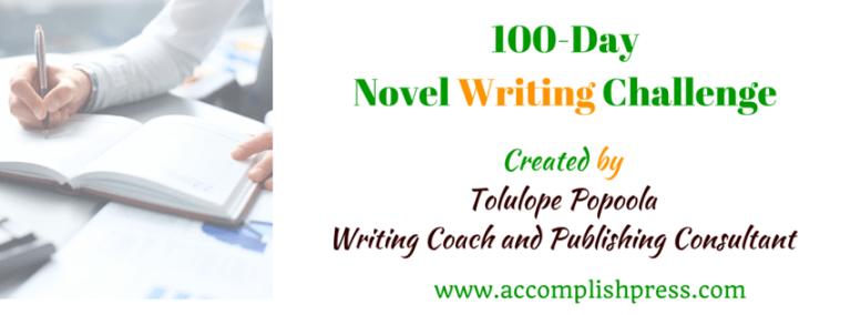 100-Day Novel Writing Challenge