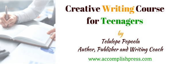 Creative Writing Course for Teenagers
