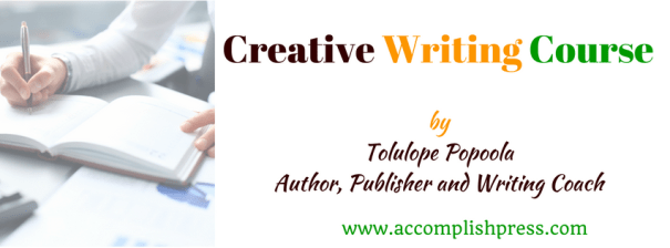 Creative Writing Course by Tolulope Popoola