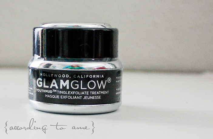 accordingtoame glamglow youthmudjar
