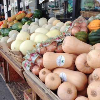 neighborhood tour – our little produce store