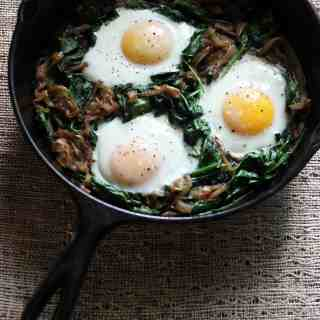 Power Greens Breakfast Skillet