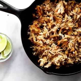 Slow Cooker Chicken Carnitas