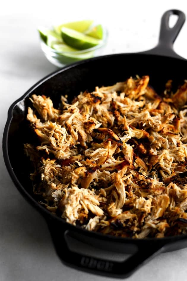 Slow Cooker Chicken Carnitas  2