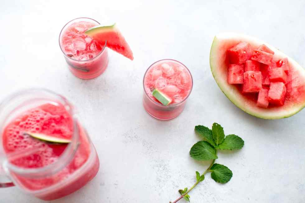 Refreshing Watermelon Juice