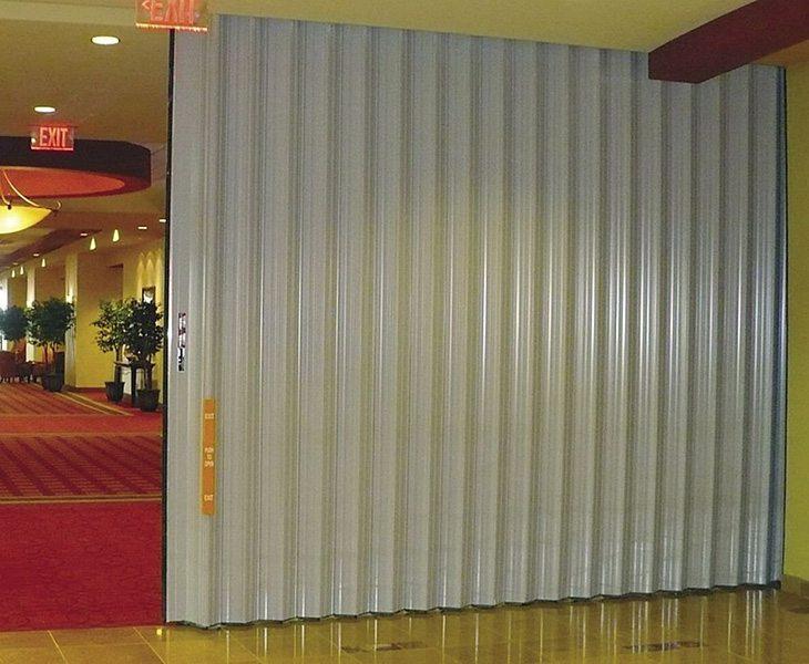 accordion doors maximize multi purpose