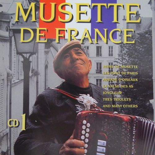 Musette De France Various Artists Musette Dragspeloteket