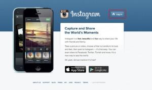 Instagram Web login