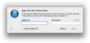 Login iTunes