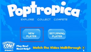 Poptropica Sign Up