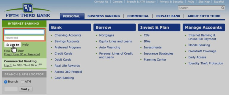 Fifth Third Login