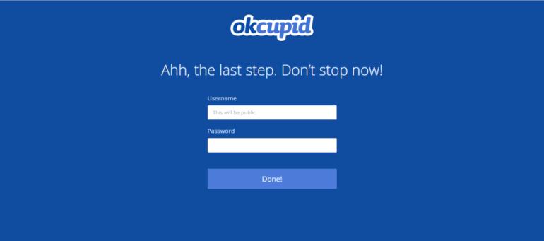 OkCupid Username