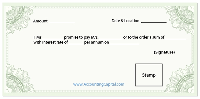 What Is A Promissory Note? - Accountingcapital