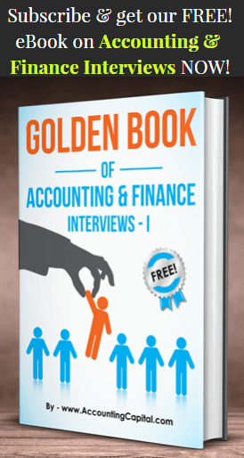 Golden Book of Accounting and Finance Interviews Part I - 3D