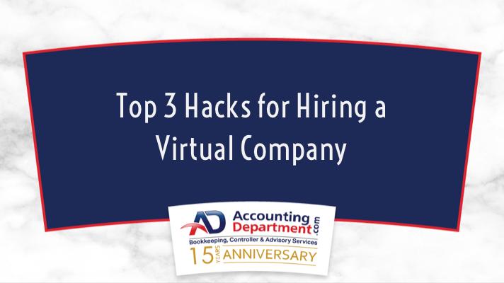 Top 3 Hacks for Hiring A Virtual Company