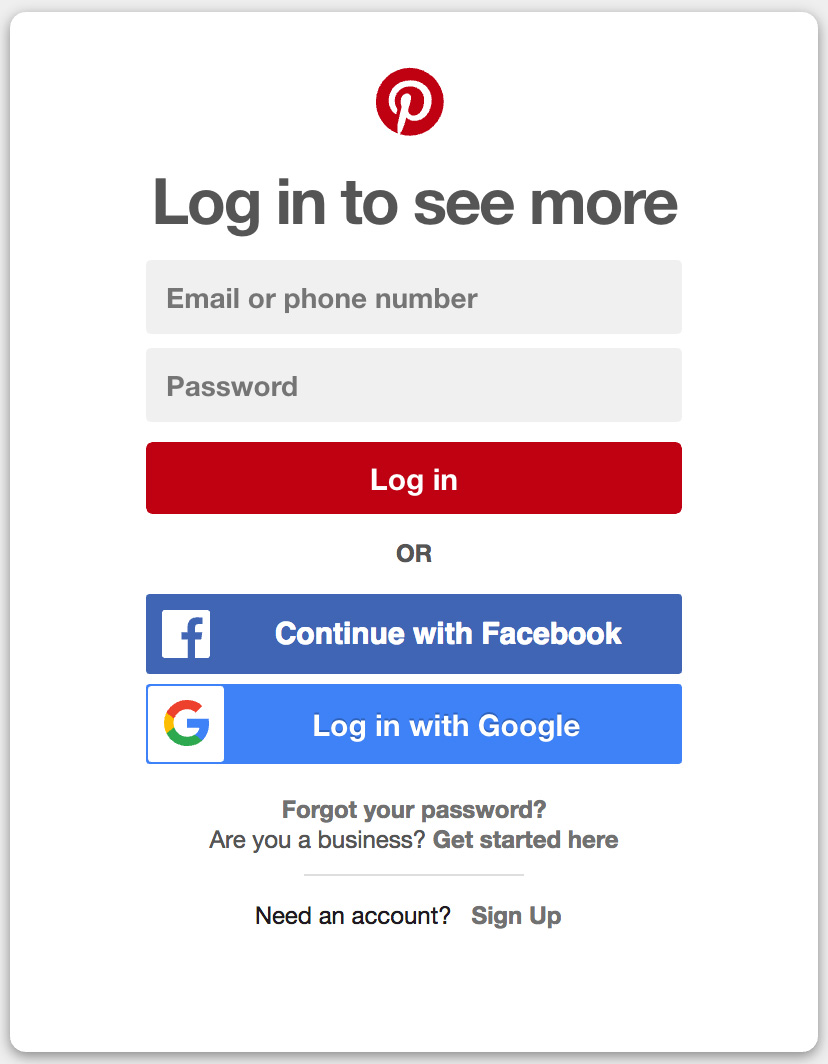 Facebook Account Setup Homepage