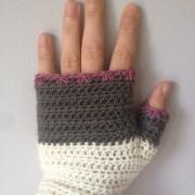 Atelier fingerless mitts