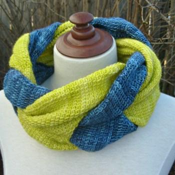 Twisted, col/cowl, crochet tunisien/Tunisian crochet