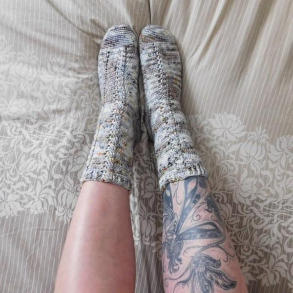 Almost the same socks, crochetAlmost the same socks, crochet