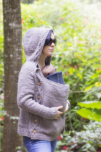 Cabled Jacket Chameleon Style - Briana K Crochet