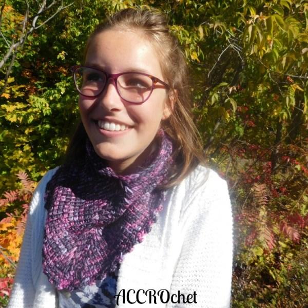 Autumn col/cowl, Tun. crochet