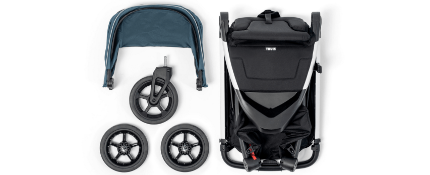 pack poussette sping thule