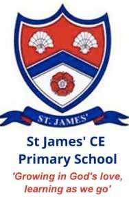 St. James' CE Primary School logo